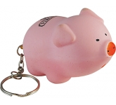 Porky Pig Keyring Stress Toy