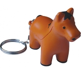 Horse Keyring Stress Toy