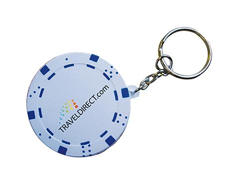 Poker Chip Keyring Stress Toy