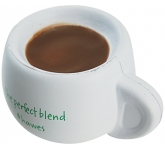 Coffee Cup Stress Toy  by Gopromotional - we get your brand noticed!