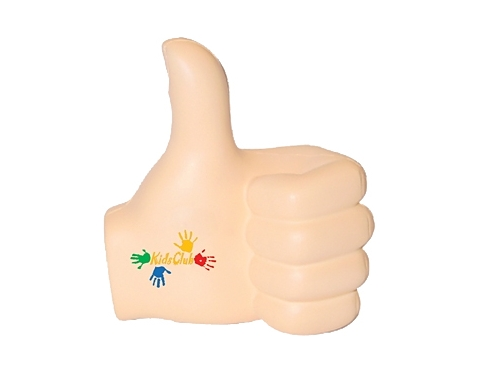 Thumbs Up Left Stress Toy