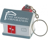 House Keyring Stress Toy  by Gopromotional - we get your brand noticed!