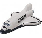 Space Shuttle Stress Toy  by Gopromotional - we get your brand noticed!