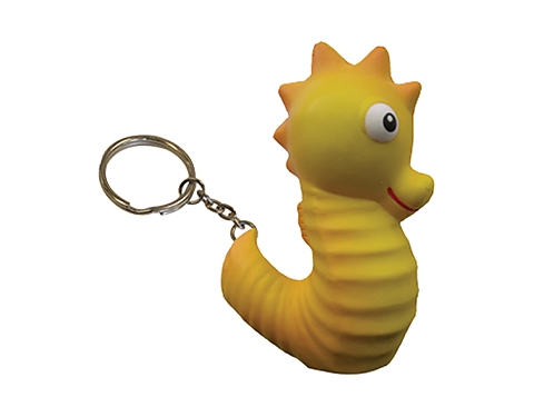 Seahorse Keyring Stress Toy