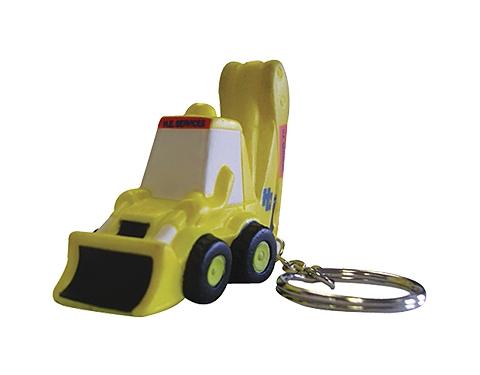 Digger Keyring Stress Toy