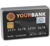 Credit Card Stress Toy  by Gopromotional - we get your brand noticed!