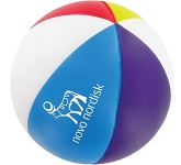 Beach Ball Branded Stress Ball  by Gopromotional - we get your brand noticed!
