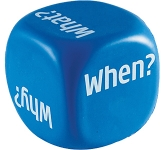 Decision Dice Stress Toy  by Gopromotional - we get your brand noticed!