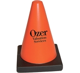 Traffic Cone Stress Toy  by Gopromotional - we get your brand noticed!