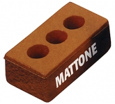 House Brick With Holes Stress Toy  by Gopromotional - we get your brand noticed!
