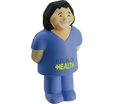 Female Surgeon Stress Toy  by Gopromotional - we get your brand noticed!