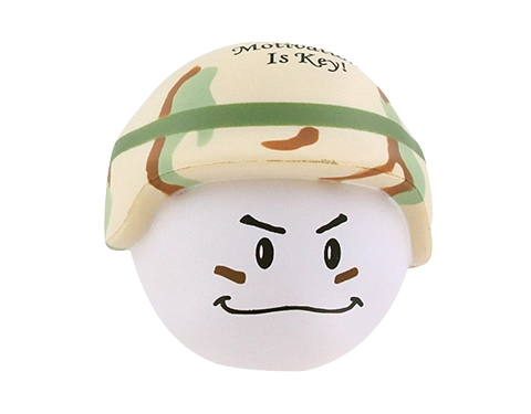 Soldier Mad Hat Stress Toy