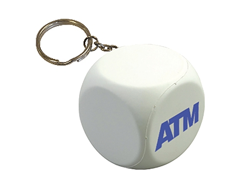 Decision Dice Keyring Stress Toy