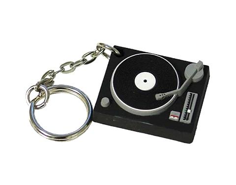 Turntable Keyring Stress Toy