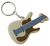 Guitar Keyring Stress Toy