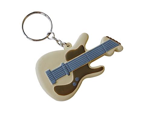 Guitar Keyring Stress Toy