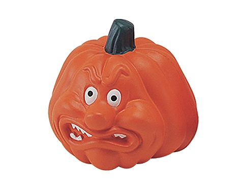 Angry Pumpkin Stress Toy