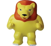 Aslan The Lion Mascot Stress Toy
