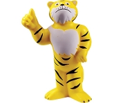 Tiger Mascot Stress Toy  by Gopromotional - we get your brand noticed!