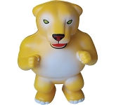 Mufasa The Lion Mascot Stress Toy  by Gopromotional - we get your brand noticed!