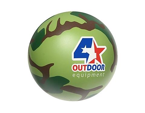 Camoflage Stress Ball