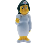 Young Nurse Stress Toy  by Gopromotional - we get your brand noticed!