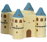 Castle Stress Toy  by Gopromotional - we get your brand noticed!