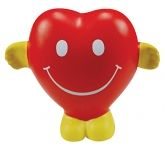 Smiley Heart Stress Toy
