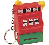 Slot Machine Keyring Stress Toy  by Gopromotional - we get your brand noticed!