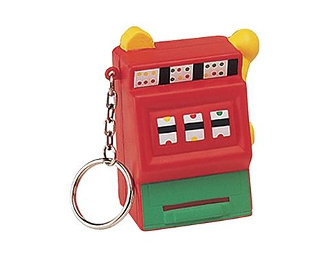 Slot Machine Keyring Stress Toy