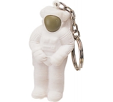 Astronaut Keyring Stress Toy  by Gopromotional - we get your brand noticed!