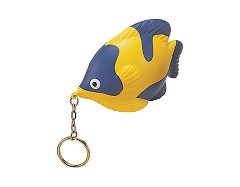 Tropical Fish Keyring Stress Toy