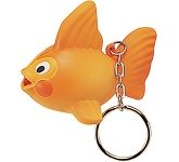 Goldfish Keyring Stress Toy  by Gopromotional - we get your brand noticed!
