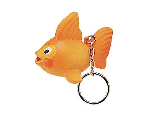 Goldfish Keyring Stress Toy