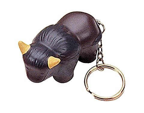 Bull Keyring Stress Toy