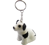 Cute Dog Keyring Stress Toy