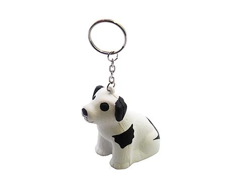 Cute Dog Keyring Stress Toy