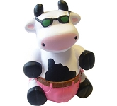 Dude Cow Stress Toy