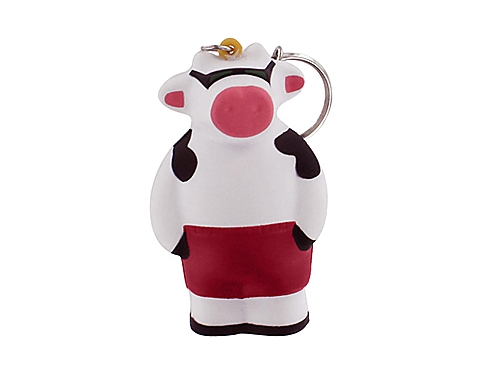 Cool Cow Keyring Stress Toy