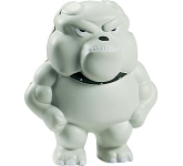 Bulldog Mascot Stress Toy
