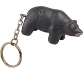 Bear Keyring Stress Toy