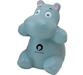 Baby Hippo Stress Toy  by Gopromotional - we get your brand noticed!