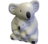Koala Bear & Baby Stress Toy  by Gopromotional - we get your brand noticed!