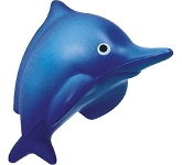 Splash Dolphin Stress Toy