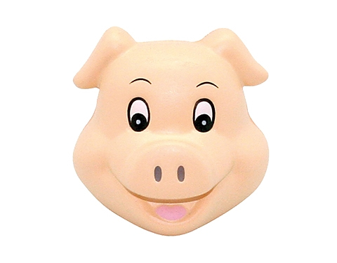 Pig Head Stress Toy