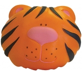 Tiger Head Stress Toy