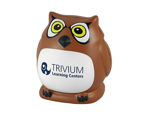 Owl Mascot Stress Toy