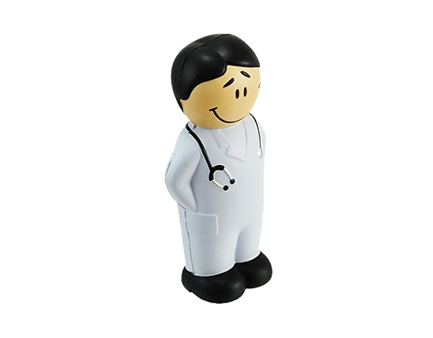 Young Male Doctor Stress Toy