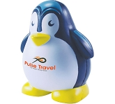 Happy Penguin Stress Toy  by Gopromotional - we get your brand noticed!