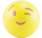 Wink Emoji Promotional Stress Ball